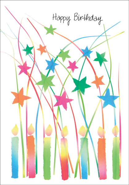 Bright Birthday Cards For Volunteers