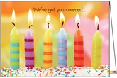 B115B - Candles Cake Birthday Card