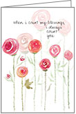 B117 - Simple Roses Birthday Cards