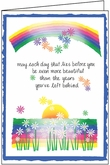 B123 - Rainbow Birthday Cards