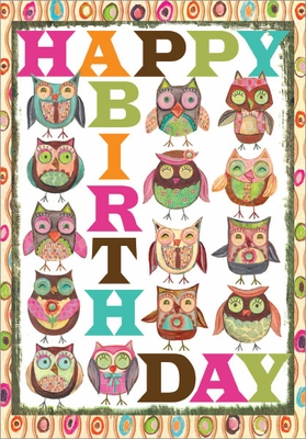 B9175 - Owls Birthday Cards