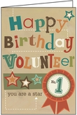 B9193V - Volunteer Greeting Cards