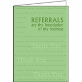 Referral Thank You Cards