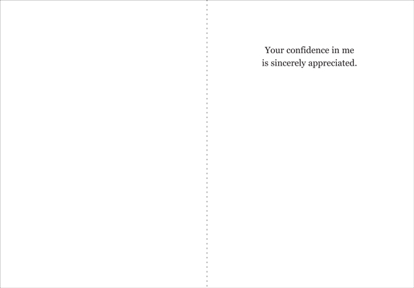 Thank You Referral Greeting Card T