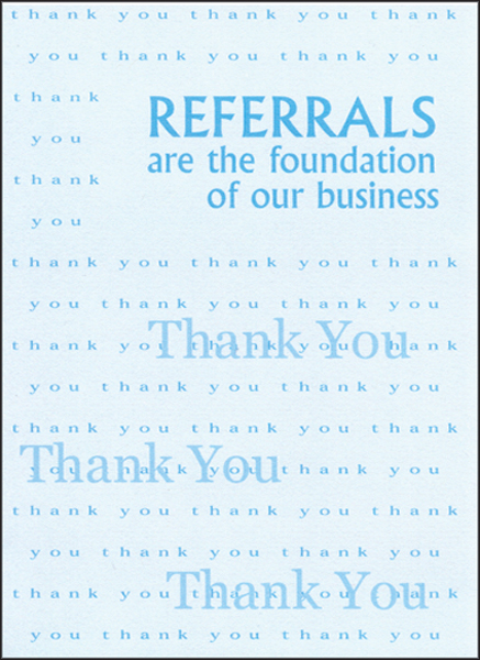 Business referrals thank you cards bc07 referrals thank you cards colourmoves