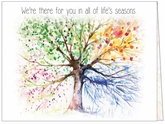 BC11 - Seasons Business Thank You Cards