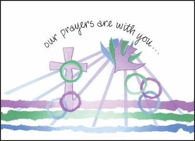 BL01C - Prayers are With You Note Cards
