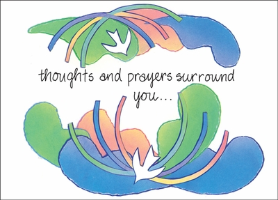 BL03C - Thoughts and Prayers Surround You Card