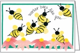 BL118V - Worker Bees Thank You Notes