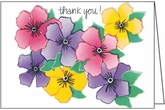 BL168 - Floral Thank You Notes