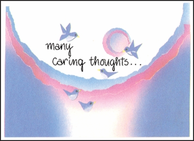 BL19H - Caring Thoughts Hospice Note Cards