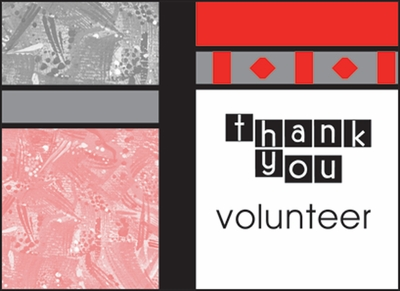 BL232V - Bright Volunteer Thank You Notes