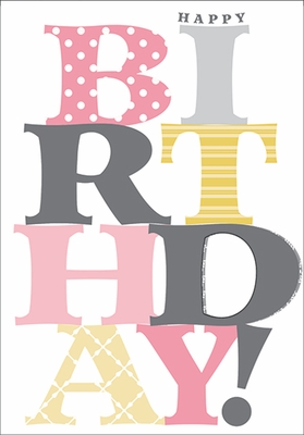 BU103 - Foil Birthday Cards
