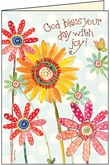 BU120C - Happy Scripture Birthday Cards