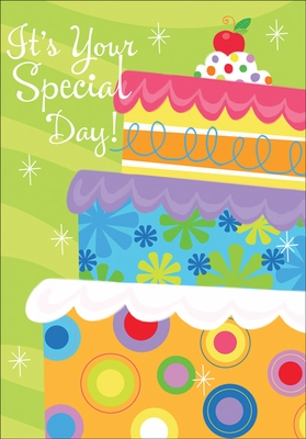 BU139 - Cake Birthday Cards