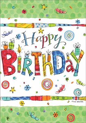 BU144 - Gifts Birthday Card