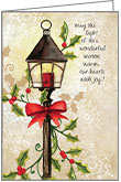 C1708 - Street Lamp Christmas Cards