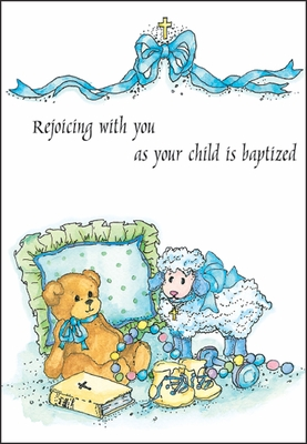 C2620C - Baby Baptism Cards