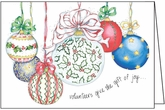 C2707 - Joyful Volunteer Christmas Cards