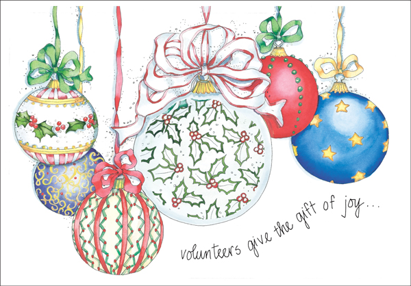 Christmas Cards for Volunteers|Shop Holiday Card for Volunteers at ...