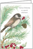 C4759V - Chickadee Volunteer Christmas Card