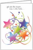 C492 - Bright Stars Congratulations Card