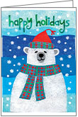C5703 - Polar Bear Christmas Cards