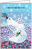 C5704 - Christmas Peace Cards