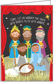 C9703 - Nativity Christmas Cards