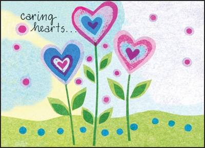 CBL12H - Caring Hearts Hospice Note Cards