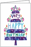 CBL14 - Note Card Size Birthday Cards