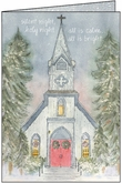 CG702 - Silent Night Christmas Card