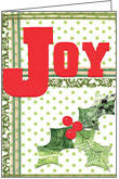 CG710 - Joy Christmas Cards