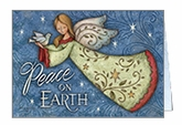 CU715C - Peace On Earth Christmas Cards