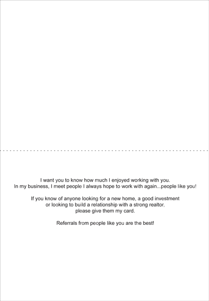 real estate referral letters