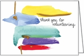 FBL06V - Bright Volunteer Thank You Notes
