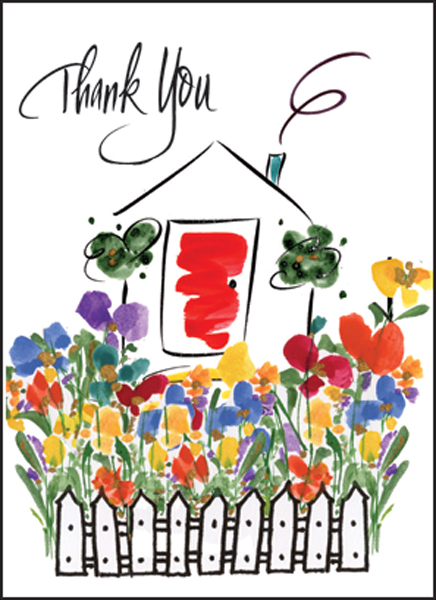 Quality Thank You Note For Real Estate  Note Cards And Greeting