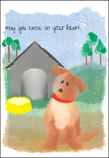 dog loss sympathy cards for veterinarians it takes two inc