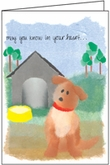 G426 - Loss of Dog Sympathy Cards