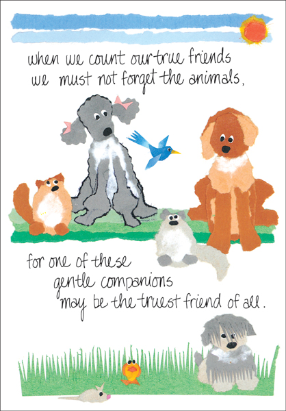 Veterinarian Sympathy Cards For Veterinary Clinics