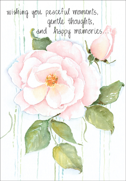 Beautiful sympathy card for death it takes two inc gw4510h peaceful moments anniversary of loss cards m4hsunfo