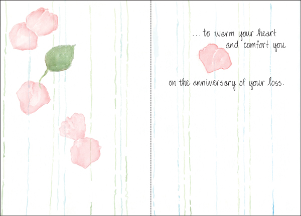 Beautiful sympathy card for death it takes two inc gw4510h peaceful moments anniversary of loss cards altavistaventures Choice Image