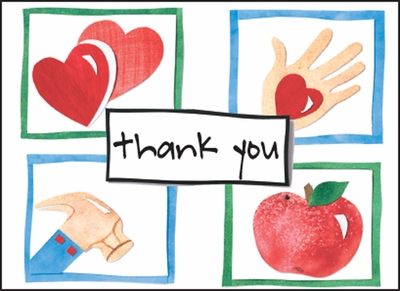 HBL14V - Time and Talents Thank You Notes