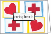 HBL15V - Caring Hearts Thank You Cards