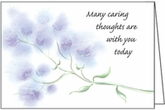 HBL24 - Thoughts are With You Hospice Note Cards