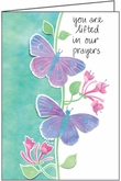 HBL35H - Lifted in Prayers Hospice Note Cards