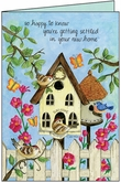 HJ402 - New Home Congratulations Card