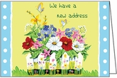 JA09 - Floral New Address Announcements