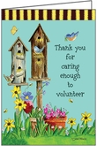 JBL06V - Bird House Volunteer Thank You Notes