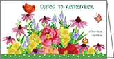JPP234 - Spring Flowers Pocket Planners